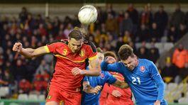 Belgicko SR Slovensko príprava futbal