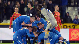 Belgium Soccer Slovakia