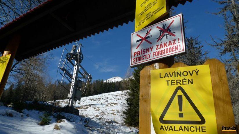 lavína, lavínové nebezpečenstvo