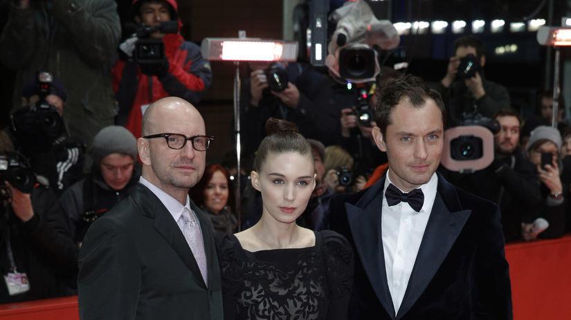 Jude Law, Rooney Mara a režisér Steven Soderbergh