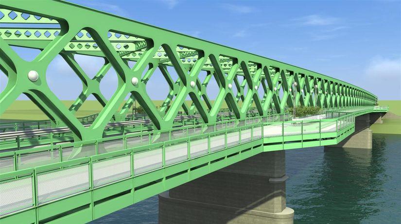 starý most, dunaj, vizualizácia