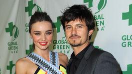 Miranda Kerr a jej manžel Orlando Bloom