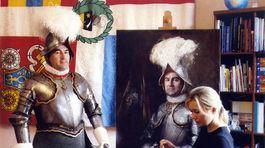 portrétistka, pápež, Natalia Carkovova, obraz