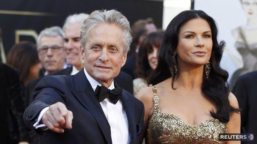 Michael Douglas s manželkou Catherine...