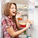 jedlo, jesť, kuchaňa, chladnička, mäso, syr