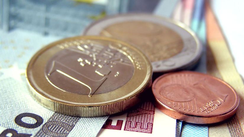 Mince, euro, peniaze, ekonomika