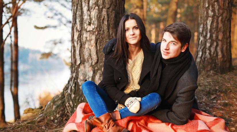 láska, vzťah, rande, romantika v prírode