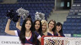 Roztlieskavačky HC Slovan Bratislava.