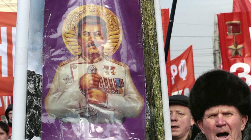 Rusko, stalin, vyrocie