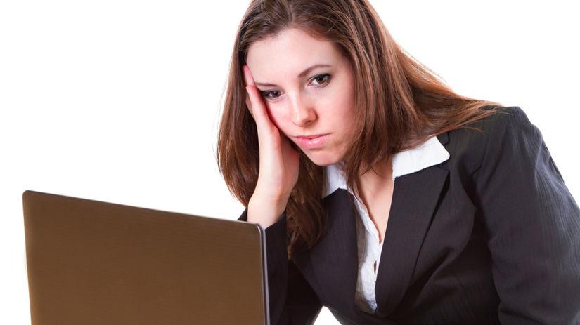 práca, frustrácia, malé sebavedomie