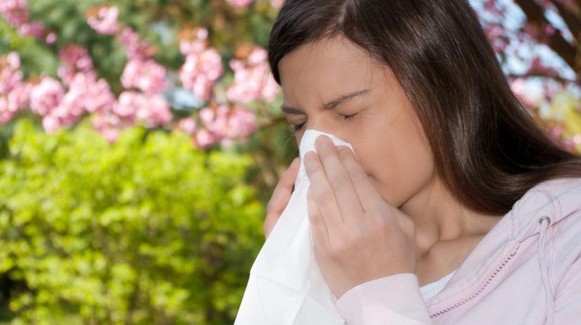 alergia, nádcha, kvety, jar, strom, kýchanie