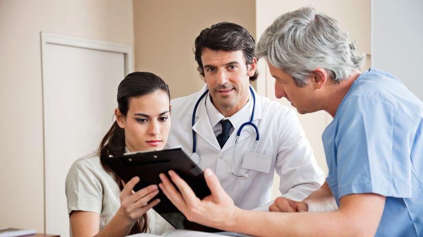 doktor, lekár, pacient, ambulancia, vyšetrenie,...