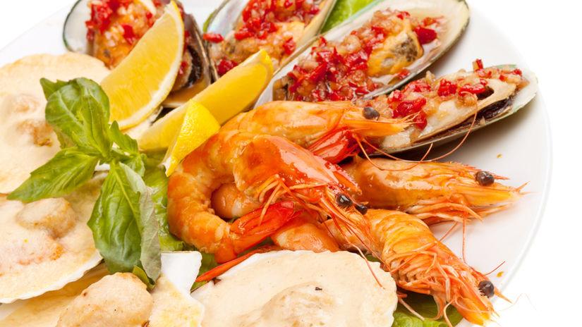 morské plody, omega 3 mastné kyseliny, výživa