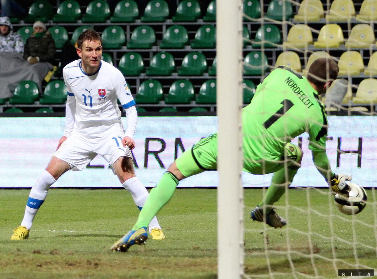 ba7600eb36af5 Opäť bez víťazstva. Slováci remizovali v Žiline so Švédmi 0:0 ...