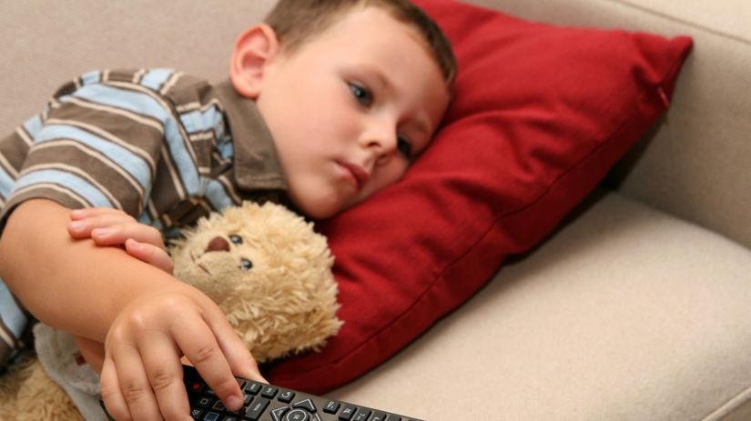 dieťa, televízia, výchova, správanie