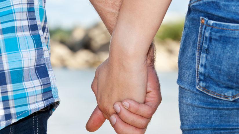 láska, ruky, držať sa, prechádza, pár, milenci,...