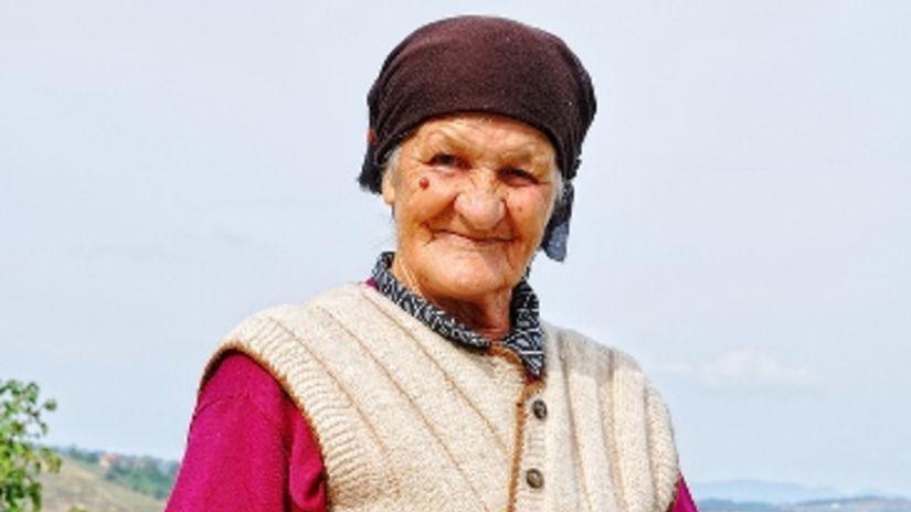 stará žena, dlhovekosť