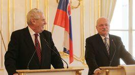 Miloš Zeman, Ivan Gašparovič