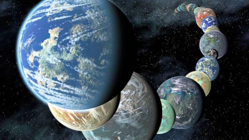 planéty, vesmír, galaxia, zem