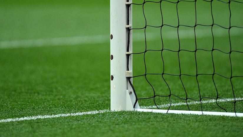 futbal, bránka, ilustračná