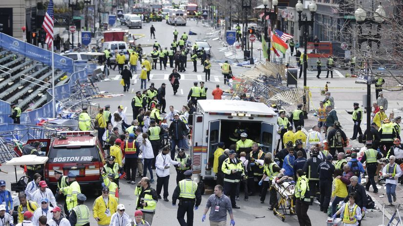 Boston, Marahon,  bomba