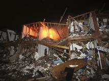 Texas, továreň, výbuch