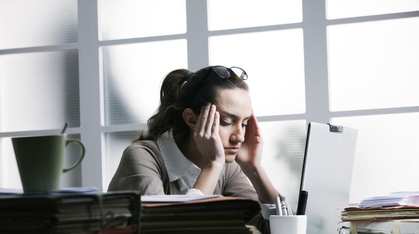stres, únava, práca, zamestnanie