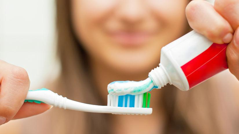 zuby, hygiena, pasta, zubná, kefka
