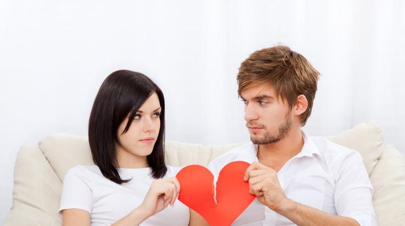 láska, rozchod, koniec, rozvod