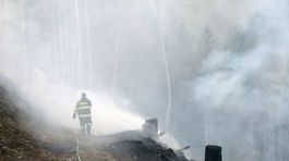 požiar, hasič, Slovenský raj