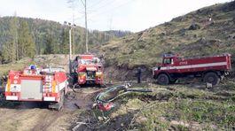 požiar, hasiči, Slovenský raj