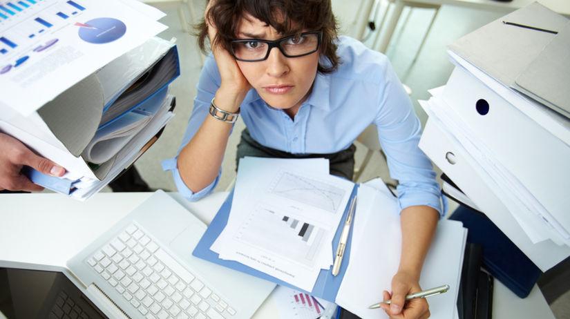 práca, zamestnanie, stres, workoholik