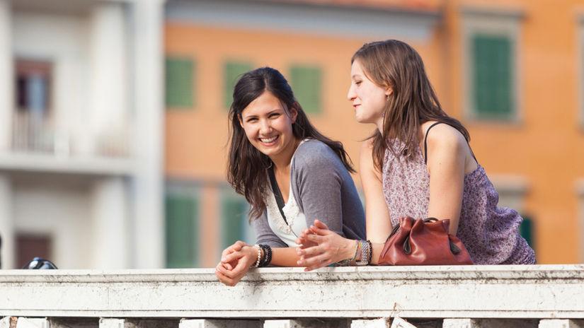 kamarátky, stretnutie, priateľstvo, ženy