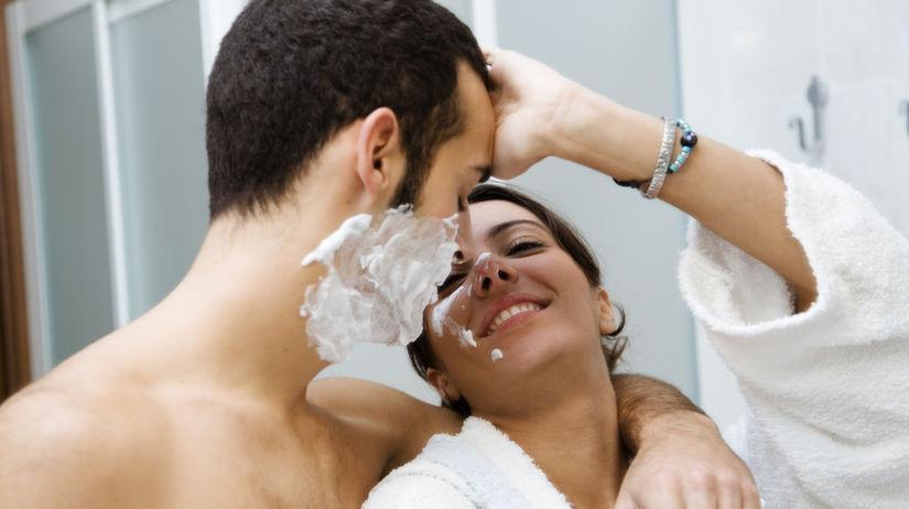 spoločné holenie - holenie partnera