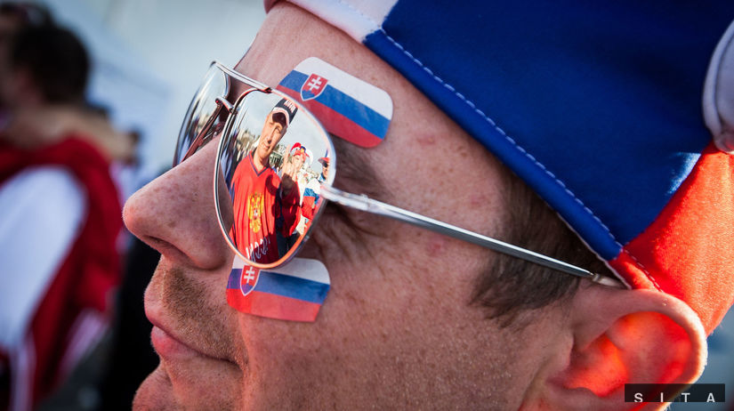 fanúšik, slovensko, rusko, hokej