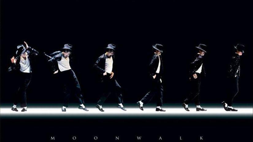 Jackson Michael Moonwalk