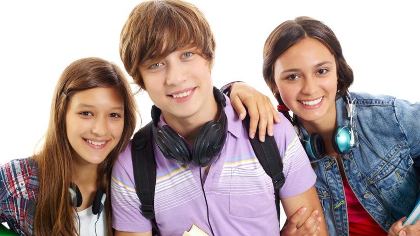 puberťáci, adolescenti, študenti