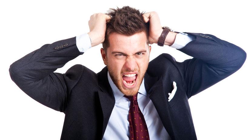 muž, psychopat, práca, stres