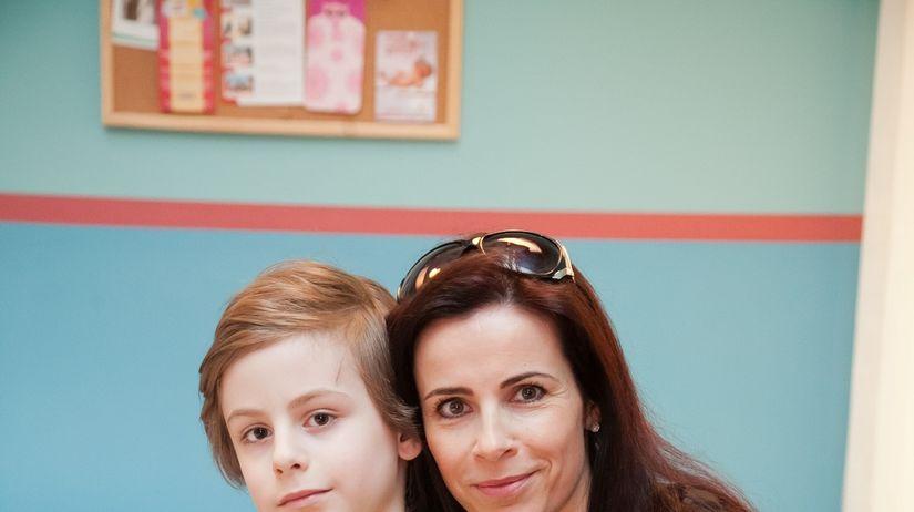Gabriela Škrabáková-Kreutz so svojím synom Filipom
