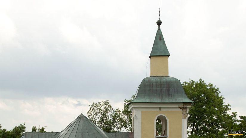 bojna, kostol, slovania, rotunda