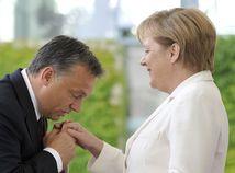 Merkelová, Orbán