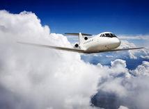 lietadlo, obloha, krídlo