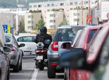 motocykel, motorka, premávka, skúter
