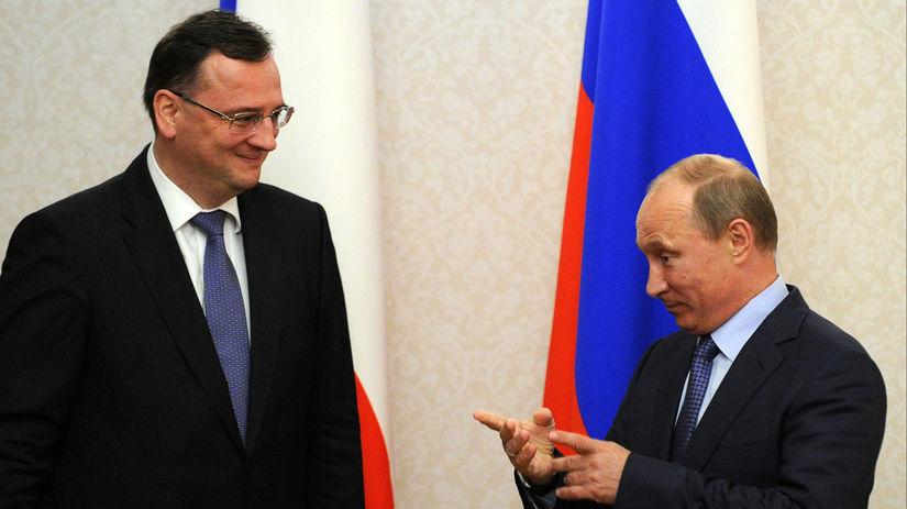 Nečas, Putin