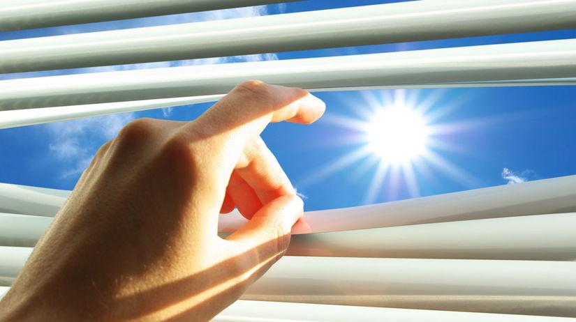 Žalúzie, tieň, slnko, tienenie, dom, byt, bývanie