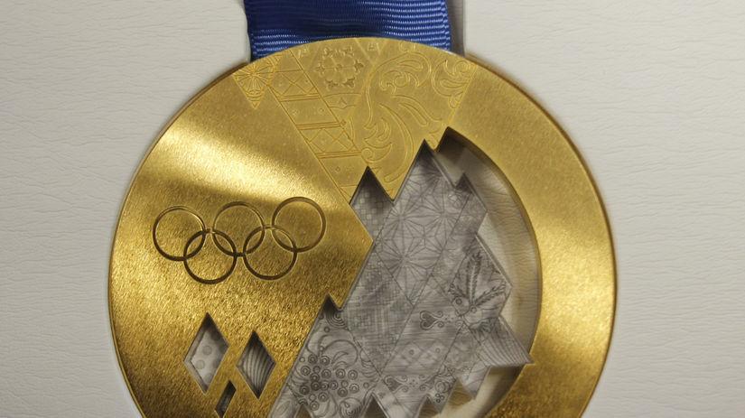 Soči, medaily, olympiáda, zlato