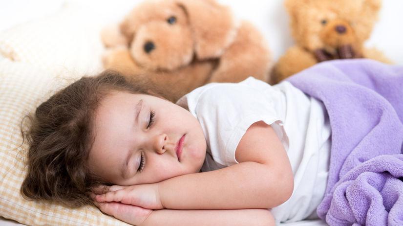dieťa, spánok