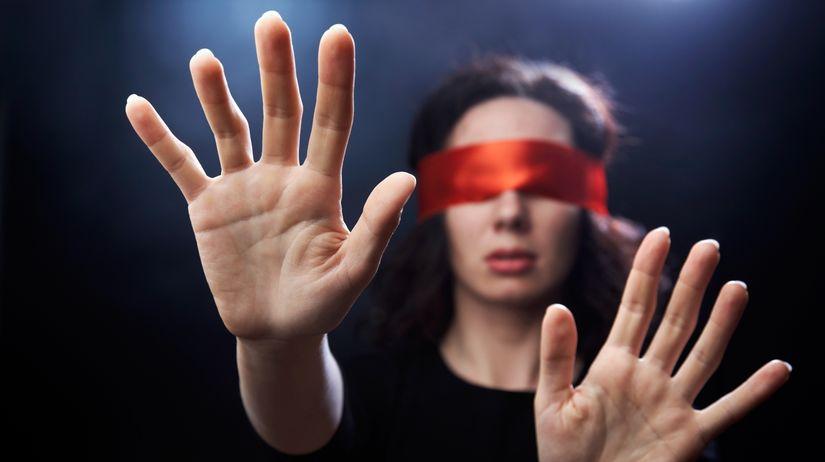 oči, pamäť, hmat, zmysel, mozog, slepota