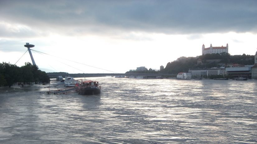 Dunaj, Bratislava, povodeň