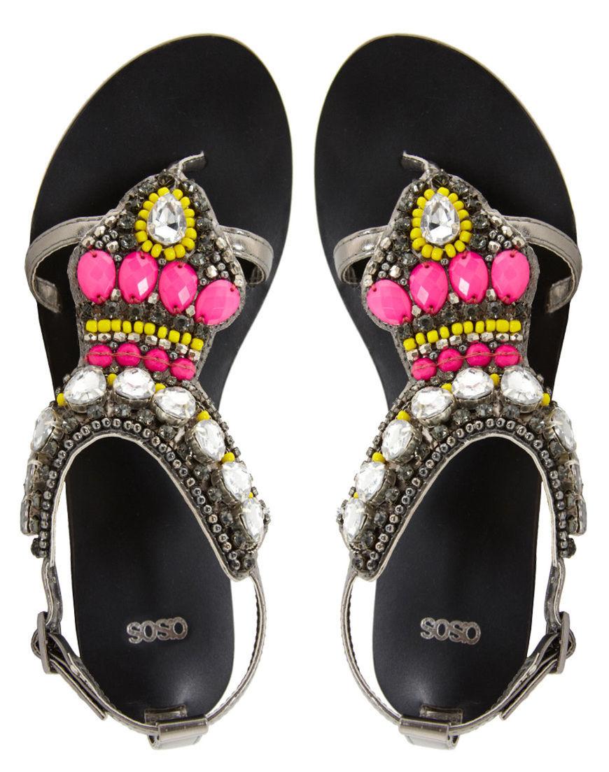 be15197850 To musíte vidieť! 40 tipov na sandále na plochej podrážke - Krása a ...